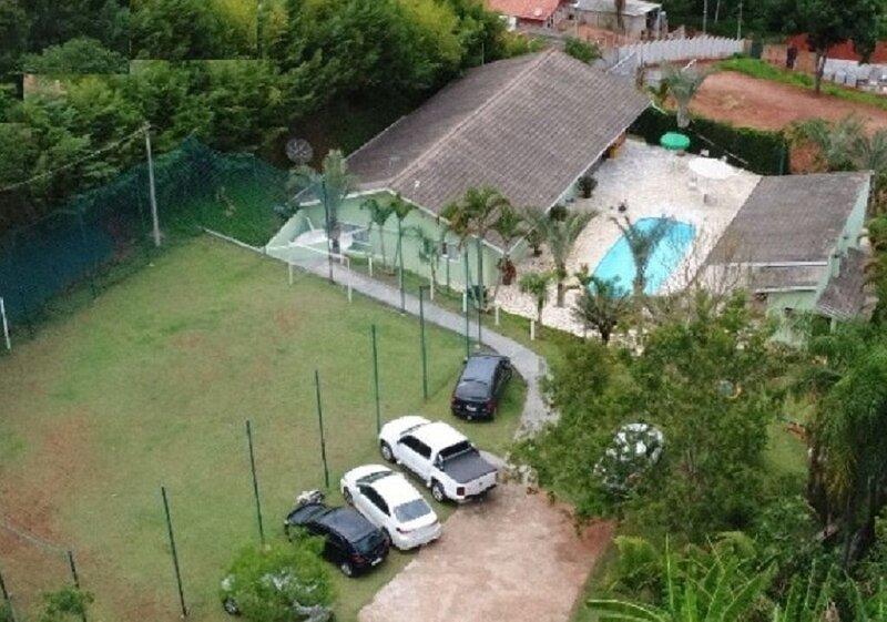 Chácara com 6 quartos com Wi Fi para até 20 pessoas, location de vacances à Jarinu