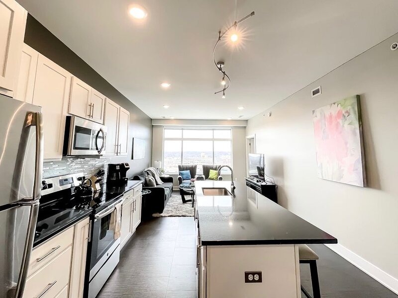 2BR City View Penthouse in Downtown GR, holiday rental in Grand Rapids