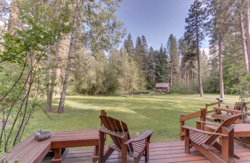 Metolius River Resort Cabin 4, aluguéis de temporada em Camp Sherman