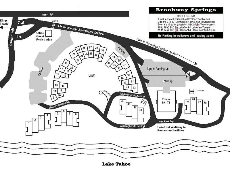 Brockway Springs Map