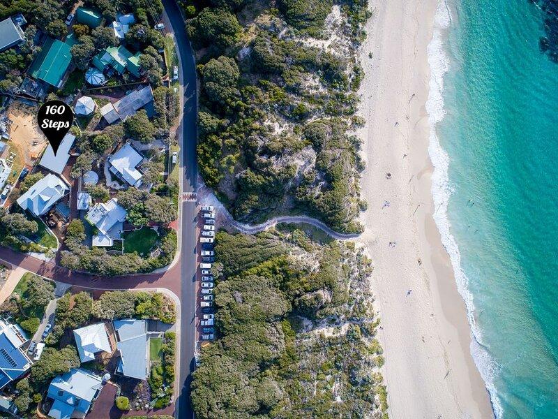 160 Steps... from Yallingup Beach, location de vacances à Yallingup