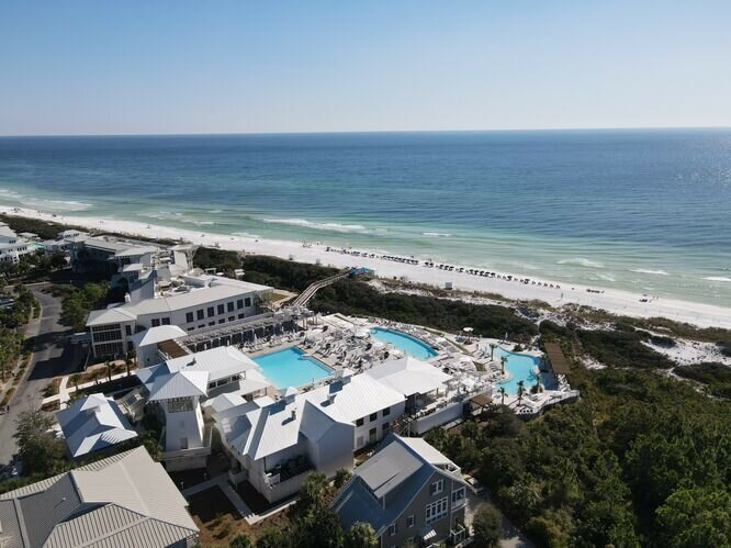 Gulf View, Two Minute Walk to Beach & Shops, 2 Bikes, Beach Hat by 30A Cottages!, holiday rental in Seagrove Beach