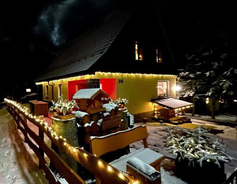 Ferienwohnung Kurort Oberwiesenthal für 2 - 6 Personen mit 2 Schlafzimmern - Meh, holiday rental in Beitenbrunn