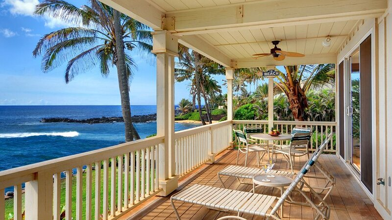 Spacious Oceanfront Living w/ AC in Bedrooms! Stunning Views!, vacation rental in Kekaha