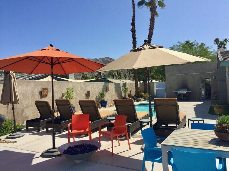 Eco, Designer 3BR with Style + Comfort + Salt-Water Pool/Spa, alquiler de vacaciones en Cathedral City