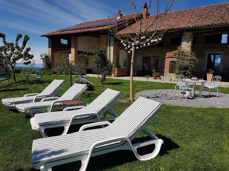 Ferienwohnung Bastia Mondovì für 4 - 6 Personen mit 2 Schlafzimmern - Ferienhaus, location de vacances à Castellino Tanaro