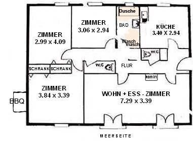 Ferienhaus Cervione für 1 - 6 Personen mit 3 Schlafzimmern - Ferienhaus, holiday rental in Pietra-di-Verde