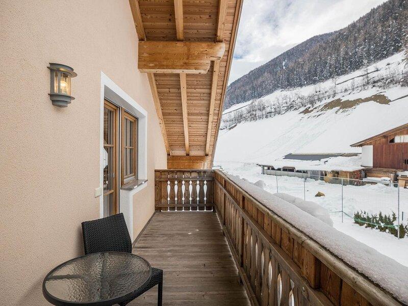 Gemütliche Ferienwohnung Bärental auf dem Gesundheitsbauernhof Wollbach - Gruber, location de vacances à Valle Aurina
