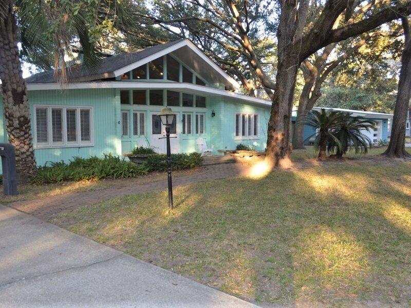 SUBLIME 4 bedrooms, 3 bathrooms, vacation rental in Jekyll Island