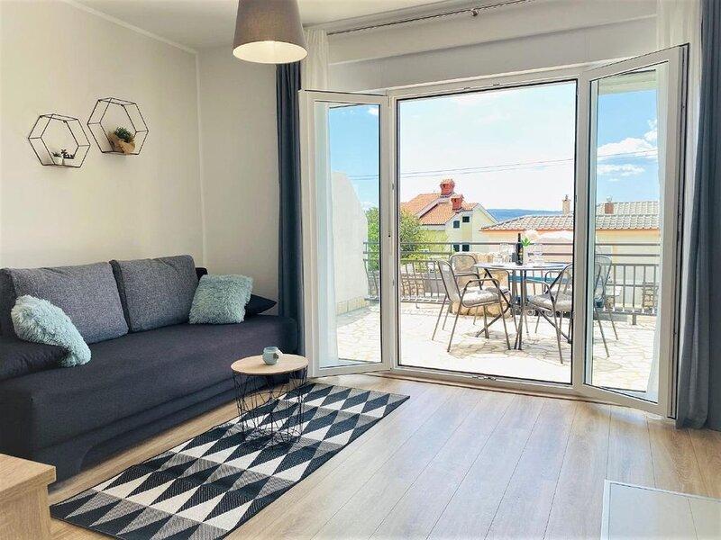 Ferienwohnung Dramalj für 1 - 6 Personen mit 2 Schlafzimmern - Ferienwohnung, location de vacances à Dramalj