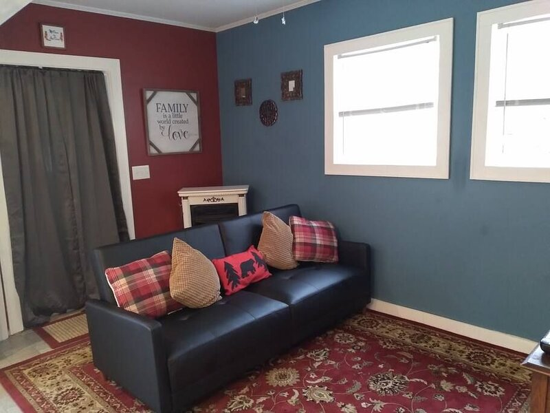 Livingroom and Curtains Leading to BR #2