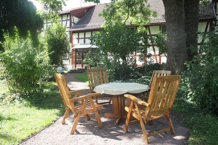 Craftman's house for 6 persons in the centre of a spa town, casa vacanza a Hoerselberg-Hainich