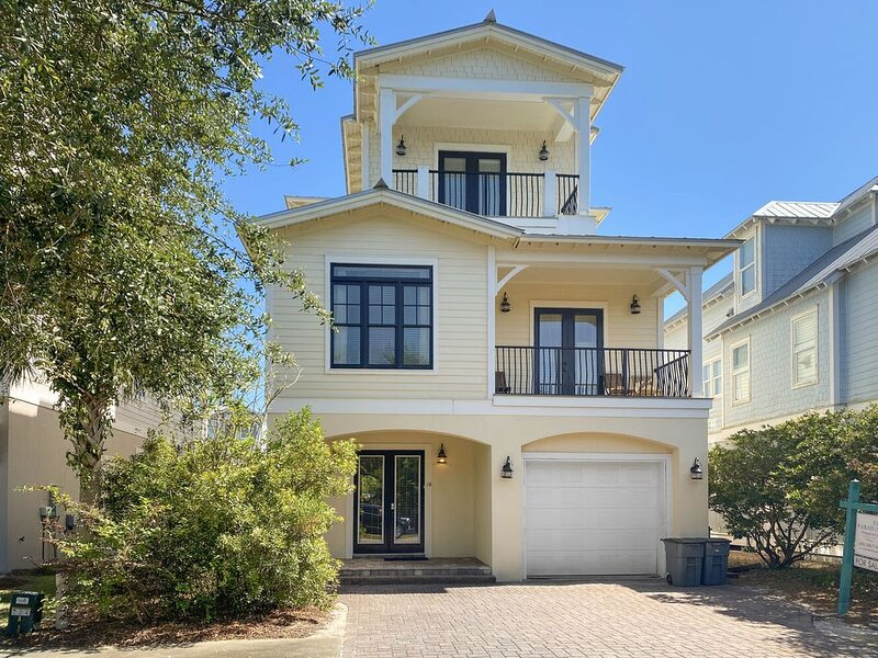 Paradise30a~Pompano Palace, Gulf Views! Elevator! Community Pool! Bike/Walk to R, vacation rental in Inlet Beach