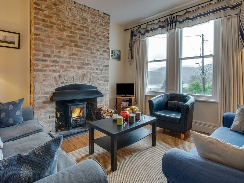 Built in the Victorian period, the house at Bontddu has beautiful views towards, holiday rental in Bontddu