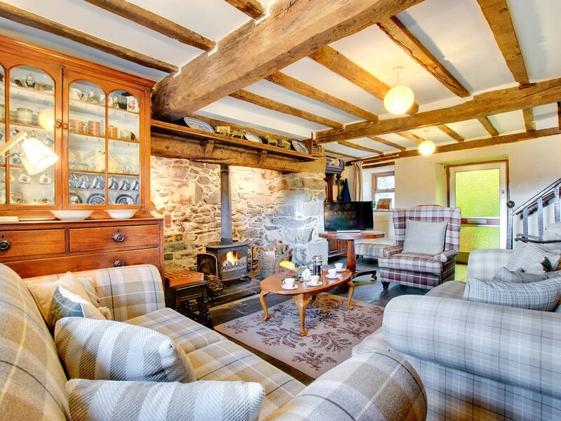 A secluded cottage which basks in the tranquil atmosphere around Cadair Idris. W, holiday rental in Llanfachreth