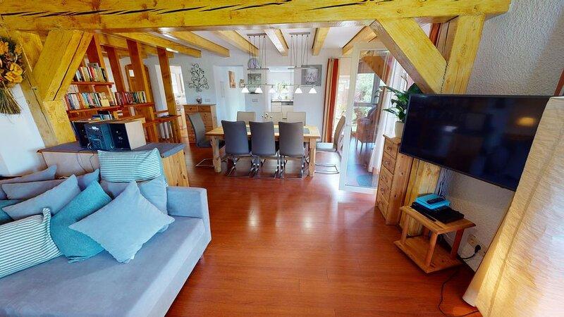 4 Sterne Ferienwohnung M1 in der Wassermühle mit Pool und Sauna, casa vacanza a Wendtorf