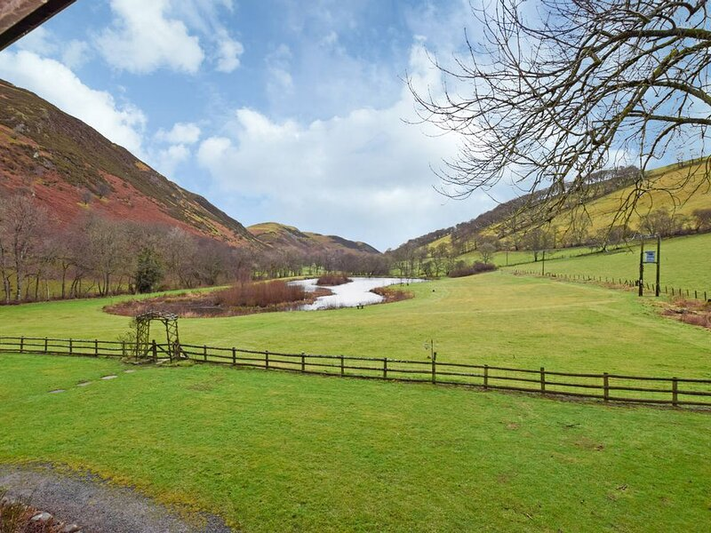 Set in a stunning countryside setting with fishing lake, great walking, cycling, vacation rental in Llanwrtyd Wells