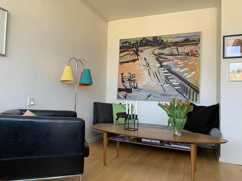 City Apartment in Kopenhagen mit 1 Schlafzimmern 2 Schlafplätzen, location de vacances à Roedovre