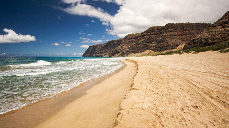 Polihale Beach - Parrish Kauai