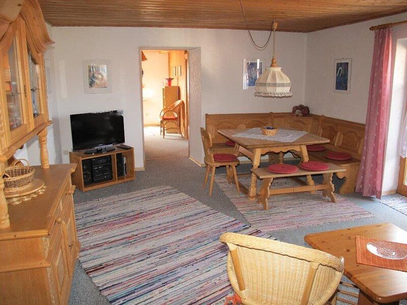 82qm große Ferienwohnung für 6 bis 8 Personen mit zwei Schlafzimmern, location de vacances à Neureichenau