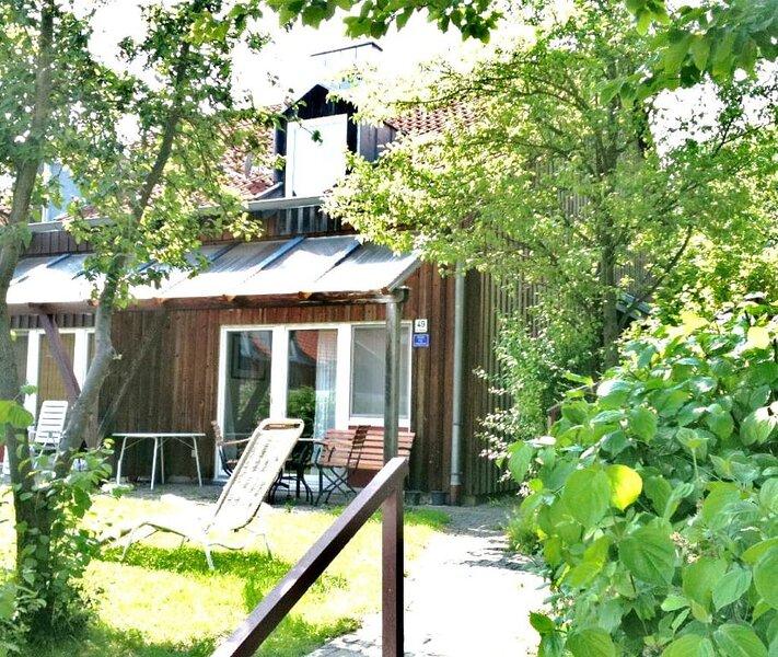 Ferienhäuser Schlossberg (Zandt)-Terrasse und Garten