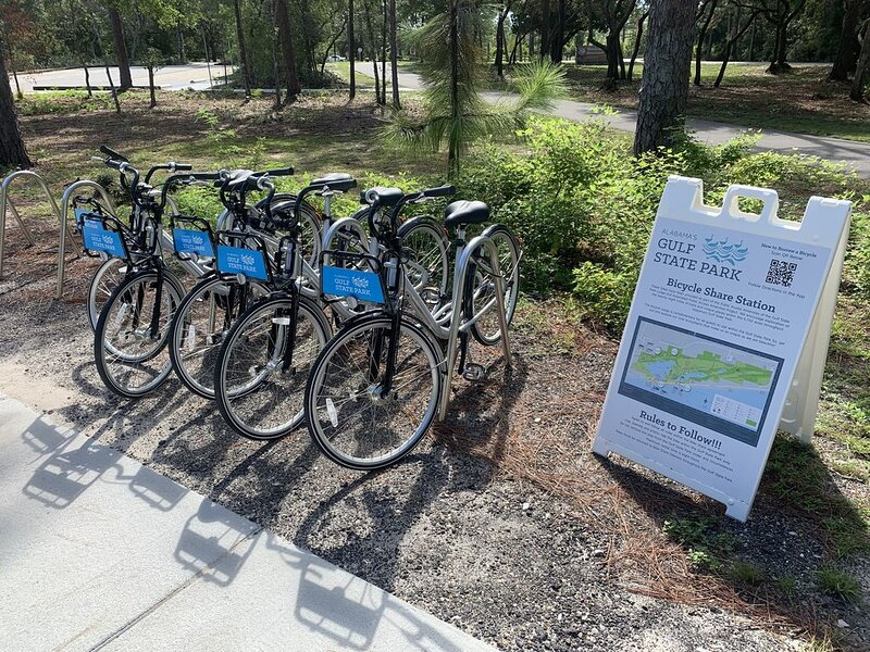 Bike Share at State Park