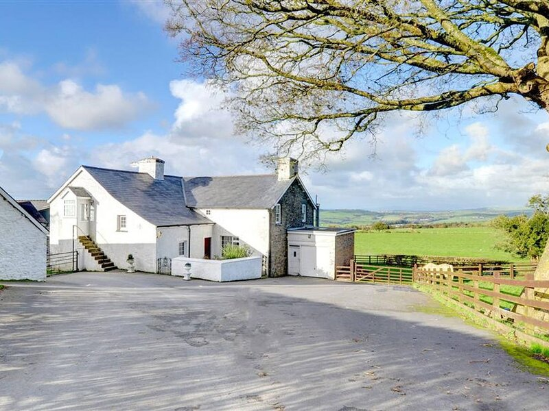 This converted granary building, adjoining the owners' home, is set on a working, vacation rental in Devil's Bridge (Pontarfynach)
