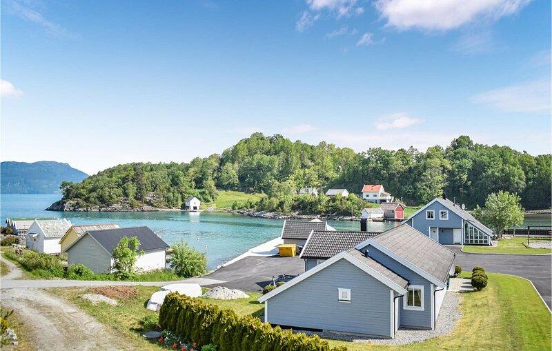4 Zimmer Unterkunft in Bjoa, holiday rental in Vindafjord Municipality