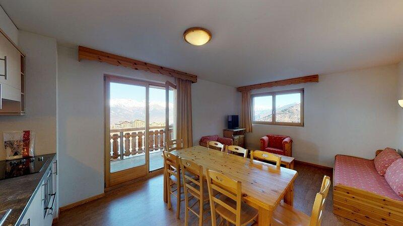 Pracondu 1 101 - SKI IN & SUNNY apartment 8 pers, holiday rental in Haute-Nendaz