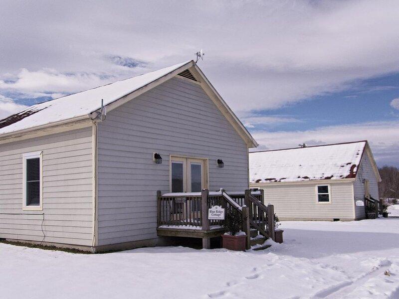 Snow at Blue Ridge Cottage