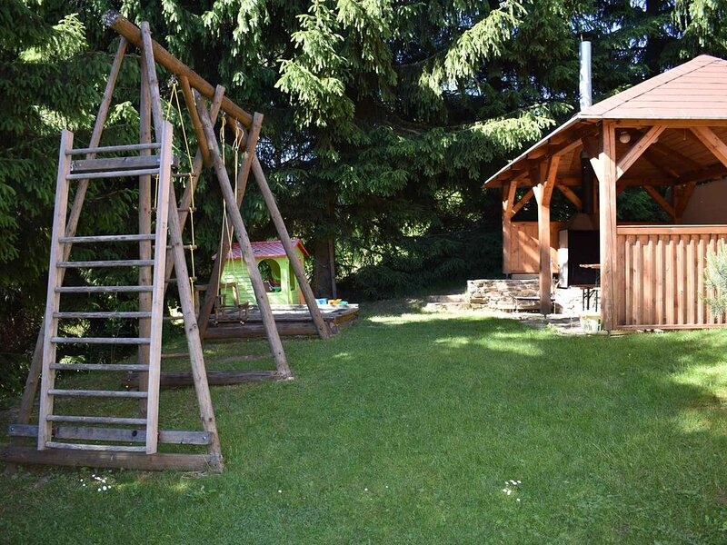 Ferienwohnung mit der Aussicht auf die Piste, casa vacanza a Kraslice
