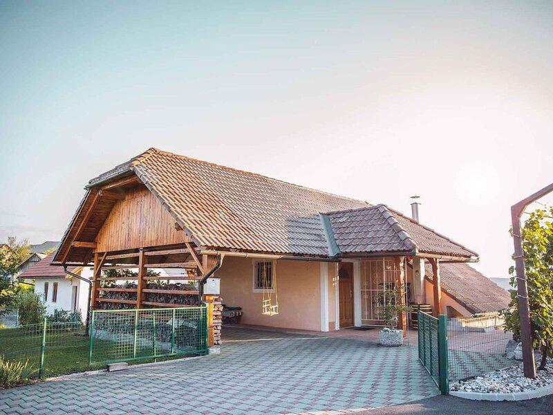 Ferienhaus mit Terrasse und Klimaanlage, holiday rental in Straza