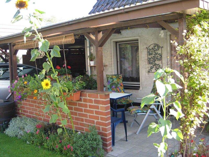 Ferienhaus mit Terrasse, holiday rental in Gross Mohrdorf