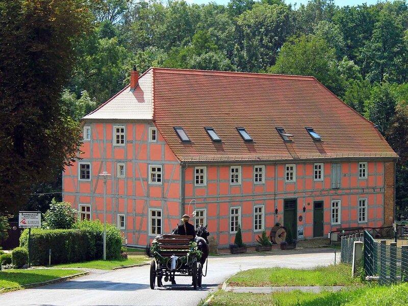 Ferienwohnung in einer historischen Wassermühle, casa vacanza a Bruessow