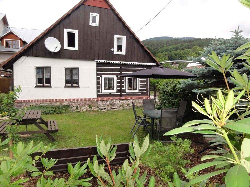 Ferienhaus 200 Meter von schönem Skipark Cerny Dul, holiday rental in Dolni Lanov