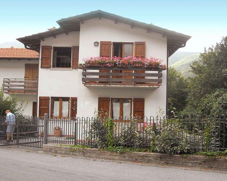 Ferienhaus in Bergen, mit Terrasse und Garten, vacation rental in Chiesina-Farne