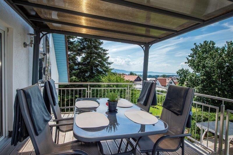 Ferienwohnung LEONE***, 65qm, 2 Schlafzimmer, max. 4 Personen, casa vacanza a Sigmarszell
