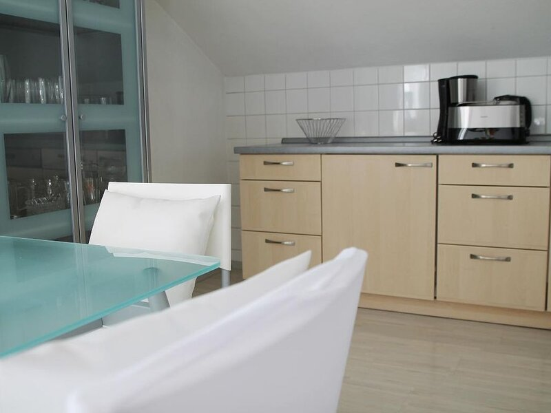Moderne Fewo mit geräumigen Sonnenbalkon und Sauna im Hau, holiday rental in Klatovy