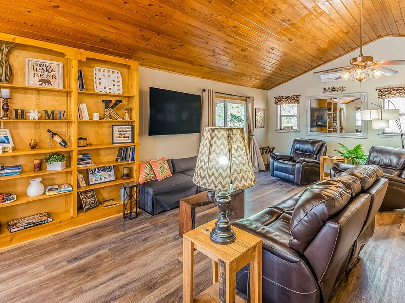 Beautiful Dog-Friendly Home W/ Family Outdoor Activities & Creek on Property!, casa vacanza a Sylva