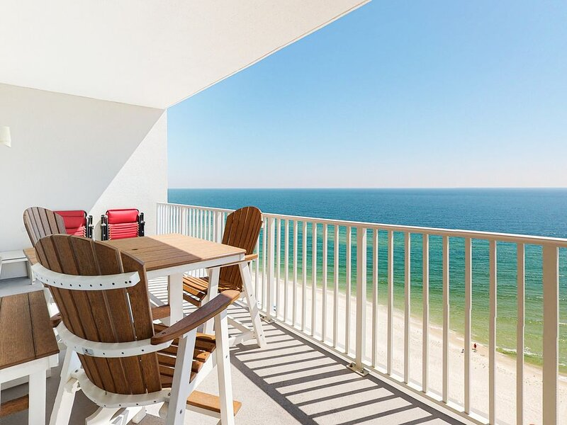 Picture-Perfect 13th-Floor Condo! Panoramic Gulf-Front Views! Gulf-Front Pool, location de vacances à Perdido Key