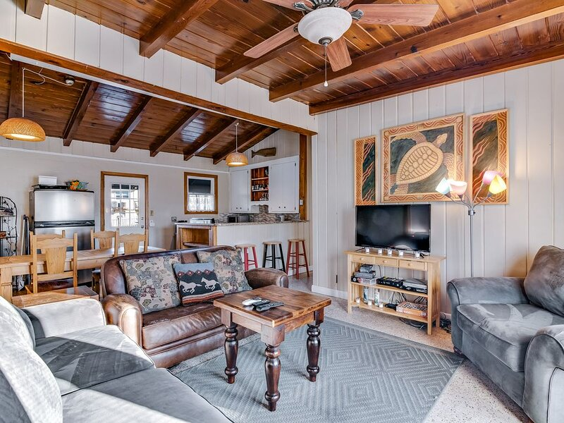 Vintage, Dog-Friendly Cottage with Ocean Views - 150 Feet from the Beach!, holiday rental in Gulf Breeze
