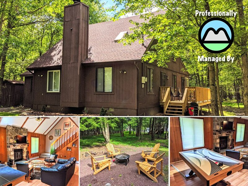 ⭐Tipsy Buck⭐ w/ Game Tables, Firepit, & ��⛰️�, holiday rental in Effort