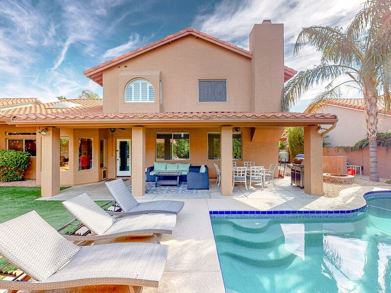 Dog-friendly House w/Private Pool/WiFi/Game Room/Firepit/Netflix/AC/Washer/Dryer, alquiler de vacaciones en Scottsdale