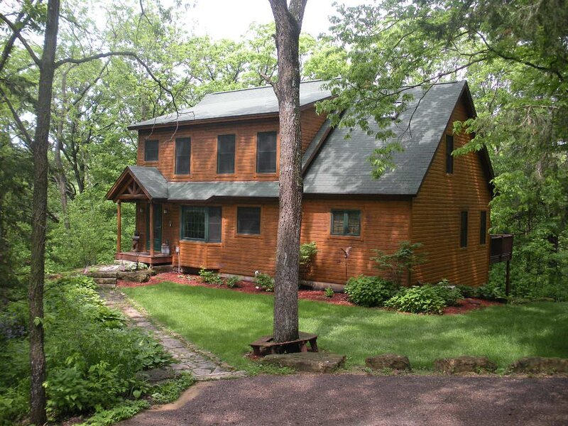 Boulder Creek, Galena IL, holiday rental in Apple River