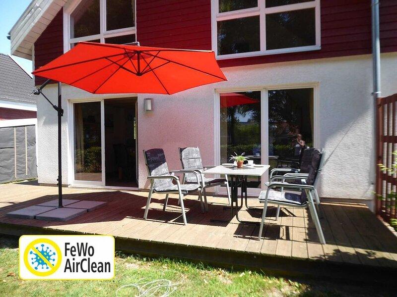 Wunderschönes Ferienhaus im Seepark Nordhorn mit Sauna und Whirlpool, holiday rental in Uelsen