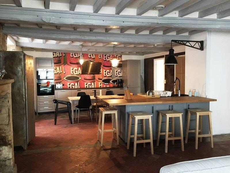 Belle maison 3 chambres située entre Bayeux et la mer, aluguéis de temporada em Nonant