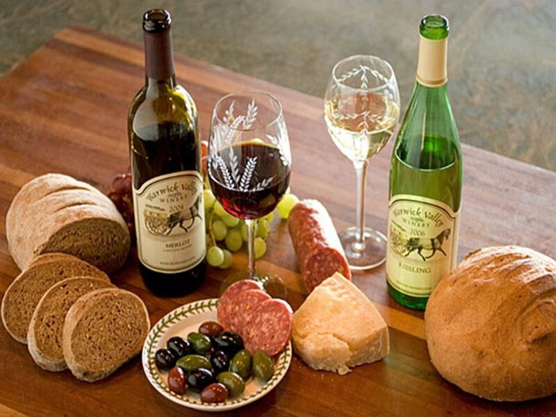 Enjoy one of life's pleasures that the local wineries offer