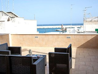 Characteristic Apartment In Monopoli For Six People With Breathtaking Sea View
