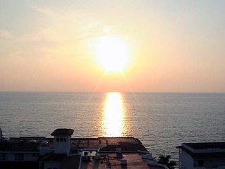 Brisas Amables Sur - Convenient Ocean View Condo 1 Block from Los Muertos Beach