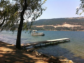 Vacation at Wood lake in the  Sunny Okanagan -Family friendly